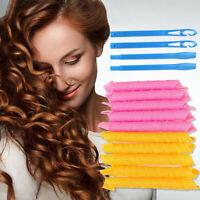 24/40 pcs. DIY 30cm / 55cm hair curlers salon hair curl QA