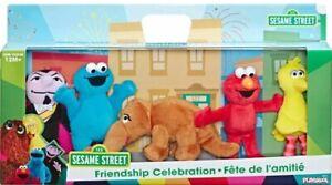 Sesame Street - Mini Plush Celebration Pack BRAND NEW BIG BIRD ELMO 5 PACK