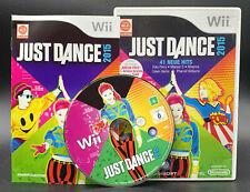 "NINTENDO WII SPIEL"" JUST DANCE 2015 15 "" KOMPLETT"