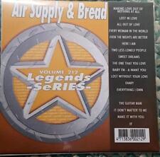 LEGENDS KARAOKE CDG AIR SUPPLY & BREAD OLDIES ROCK  #212 17 SONGS CD+G