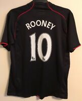 """Manchester United away football shirt size L 42""""-44""""  Rooney Nike 2006-2007"""