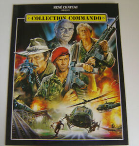 COLLECTION COMMANDO / RENE CHATEAU / PLV  / DOCUMENT MEDIA 4 PAGES /