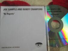 Randy Crawford & Joe Sample – No Regrets EmArcy Records UK CDr CD Album