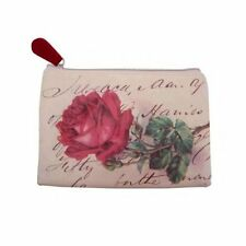 Disaster designs Make Up Bag -Vintage Rose Pattern. Zip up bag