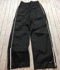 90s VTG NIKE AIR SWOOSH LOGO Unlined WINDBREAKER XS Pants TRACK Swishy OG White