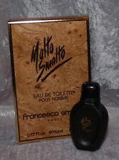 Collectors miniature parfum -  Fransesco molto smalto   + box 5 ml