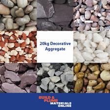 More details for decorative aggregates  slate - chippings - gravel - pebbles - gardens - 20 kg