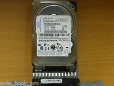 "IBM 73.4GB 10K SAS 2.5"" HDD WITH CADDY  FRU:39R7391 4P/N 0K1088 MODEL MAY2073RC"