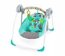 ZigZag Zebra Portable Baby Swing (Brand New)