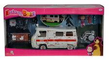 Simba Masha and the Bear Mascha und der Bär Spielset Krankenwagen 20cm NEU