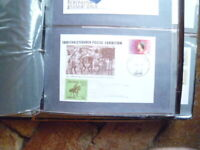 1988 NEW ZEALAND COVER CHRISTCHURCH POSTAL EXHIBITION  WITH 50C CINDERELLA STAMP