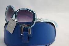 DG SUNGLASSES CELEBRITY NEW BLUE DESIGNER FASHION+ FREE GIFT BLUE CASE*557