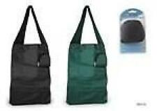 KS Brands BB0105 1 Nylon Travel Shopping Bag Foldable Reusable Black Green Mixed