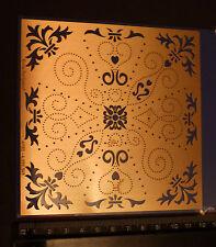Erica/Stencil/Rozetten/Flower/Swirl/emboss/Stitch/Embroider/4.050.349/NICE
