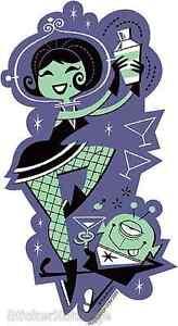 Jet Set Sticker Decal Art Derek Yaniger DY19 Shag Like
