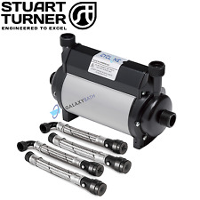 STUART TURNER ARLEY CYCLONE TWIN IMPELLER SHOWER 1.5 BAR PUMP 15MM WITH HOSES