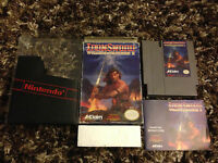 Wizards & Warriors II: Iron Sword (Nintendo NES) CIB complete