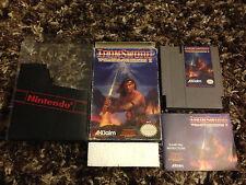 Wizards & Warriors II: Iron Sword (Nintendo NES) CIB complete
