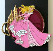 DISNEY ACME AURORA KINGDOM CASTLES JUMBO LE 300 Pin GOLDEN MAGIC Sleeping Beauty
