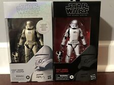 Star Wars Black Series Carbonized First Order Jet Trooper & Jet Trooper Both MIB