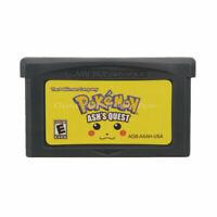 Pokemon Ash's Quest GBA Game Boy Advance Cartridge