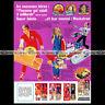 6 MILLION DOLLAR MAN Steve Austin ACTION FIGURE 1977 - Pub Advert Ad #A1116