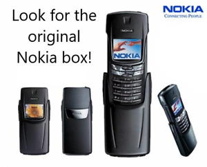 Nokia 8910i - worldwide Unlocked with original box and full accessorize.