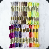 DMC 35 New Floss Colors!! ~ #1 - 35 ~  6 get 1 FREE -  Free Shipping on 2+