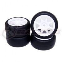 3RACING  SAK-MG20 Rubber Tire Set  For 1/10 RC M-Chassis SAKURA Mini MG