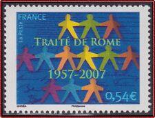 2007 FRANCE N°4030** Cinquantenaire du Traité de Rome, France 2007 MNH