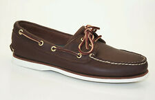 Timberland Classic Boat Shoes 2-Eye Sailing Deck Shoes Men Shoes