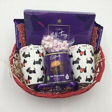 Couples's Cadbury Chocolate Lovers Gift Hamper Dog Lovers Basket Mum Dad Parents