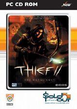 Ladrón II el metal Edad, PC CD-ROM juego.