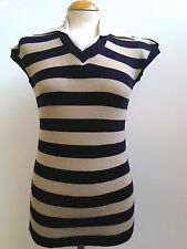 Unbranded Striped Sleeveless Jumpers & Cardigans for Women