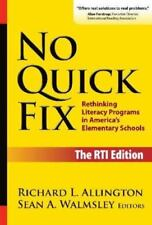 Language and Literacy: No Quick Fix : Rethinking Literacy Programs in...