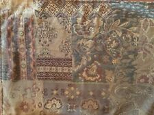 """Placemats Paisley Brown Green Tapestry Rectangular 18"""" x 13"""" Set of 8"""