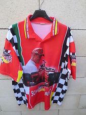 Maillot Formule 1 SCHUMACHER trikot maglia SCHUMI the BEST # 3 shirt scuderia XL