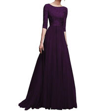 Womens Lace Long Bridesmaid Dress Party Dresses Formal Wedding Dresses Cocktail