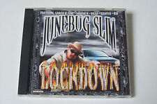 JUNEBUG SLIM - LOCKDOWN US-CD 2000 (Chicano Rap Deryck D Garcia Westside) RARE