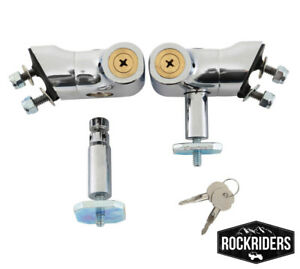 Smittybilt 7591 Hood Lock Locking Latch Stainless Steel 1997-2006 Jeep Wrangler