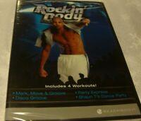 New! Beachbody 'Rockin Body' Exercise DVD 4 Workouts-Move-Disco-Party-Dance   X5