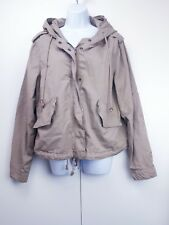 Gap Size XL Jacket Coat Mac Short Hooded Long Sleeve 100% Cotton Festival