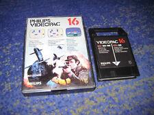 G7000 Philips Videopac 16 Schiffe versenken / Schützenfest G 7000 Rarität