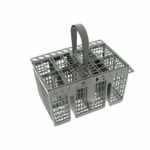 Dishwasher Cutlery Basket With Handle & Lid For Ariston Hotpoint