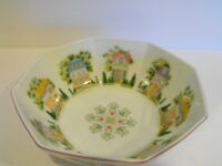 LENOX VILLAGE OCTAGON 8 SIDED Bowl Excellent Condition 1995