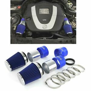 SPORT AIR INTAKE WITH SPORTS FILTER FOR MERCEDES W204 C300 C350 V6 MODEL