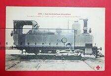 Eisenbahn AK Lokomotive aus Frankreich um 1910 Dampflok N. 1    ( 27712