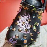 Vivienne Tam x Crocs Unisex Multicolor Studded Dragon Print Clog Shoes M7/W9 NIB