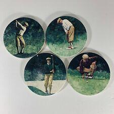 New listing CoasterStone Coasters Glen Green Art The Art of Golf: The Putt Swing Drive Line
