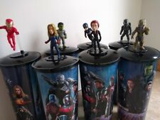 Avengers Endgame Theater Cups and Toppers - Set of 7